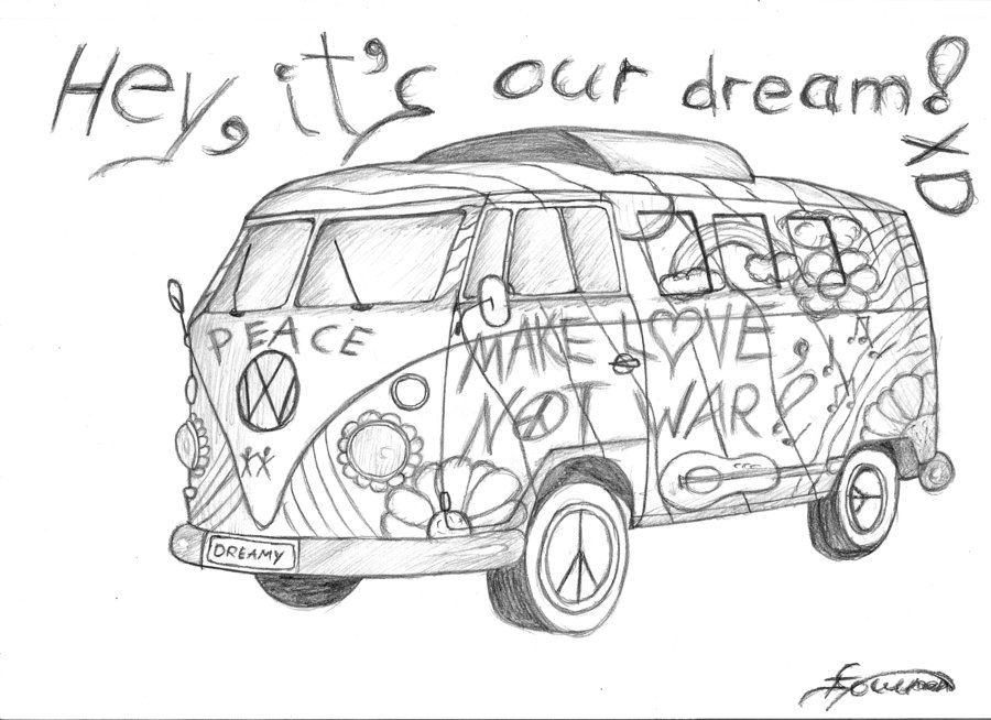 hippie coloring pages - hippie coloring pages printable sketch templates