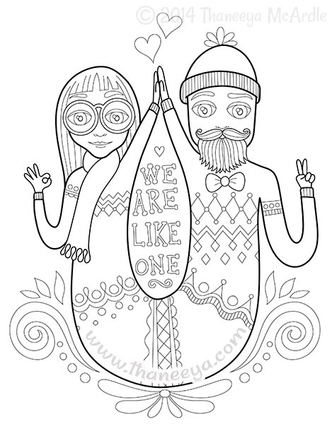 hipster coloring pages - hipster coloring book