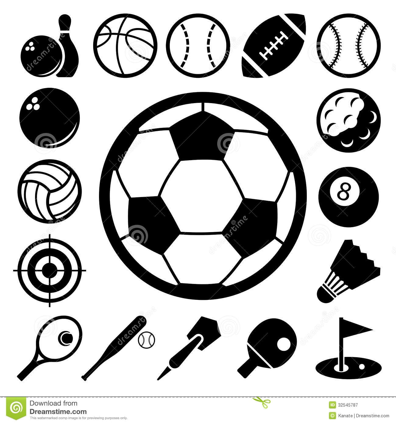 hockey coloring pages - royalty free stock photography sports icons set illustration eps image