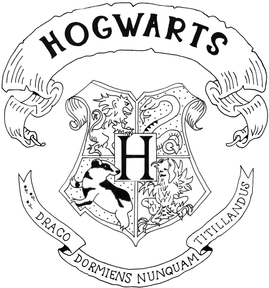 25 Hogwarts Coloring Pages Pictures | FREE COLORING PAGES ...