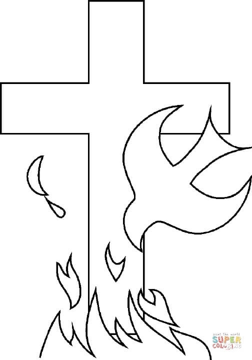 28 Holy Ghost Coloring Page Collections Free Coloring Pages