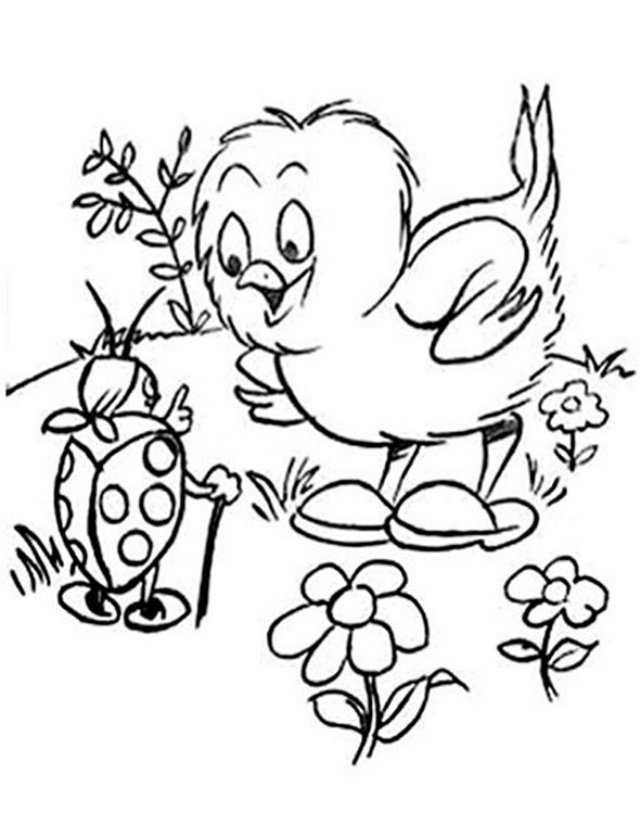 horseland coloring pages - fruhling 14