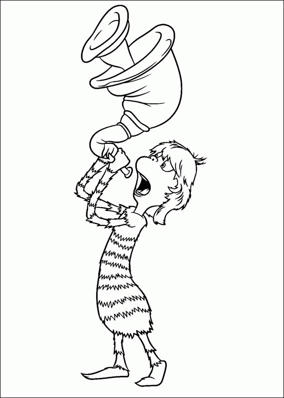 Horton Hears A who Coloring Page - Horton Hears A who Coloring Pages Coloringpagesabc