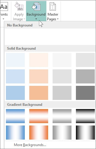 how to change page color in word - Change the background color using Publisher 71acb5d5 42ab 4a1f ac76 2aa3794d685b