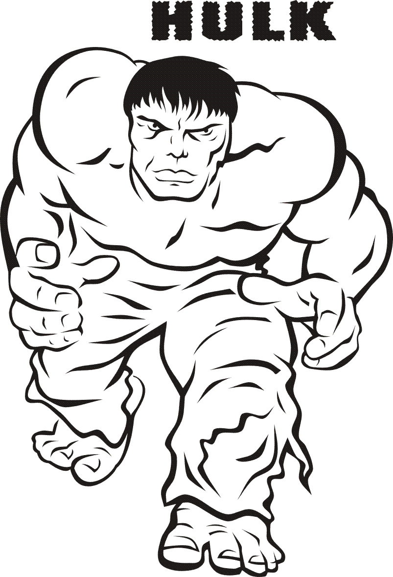 hulk coloring pages - free printable coloring pages hulk 2015