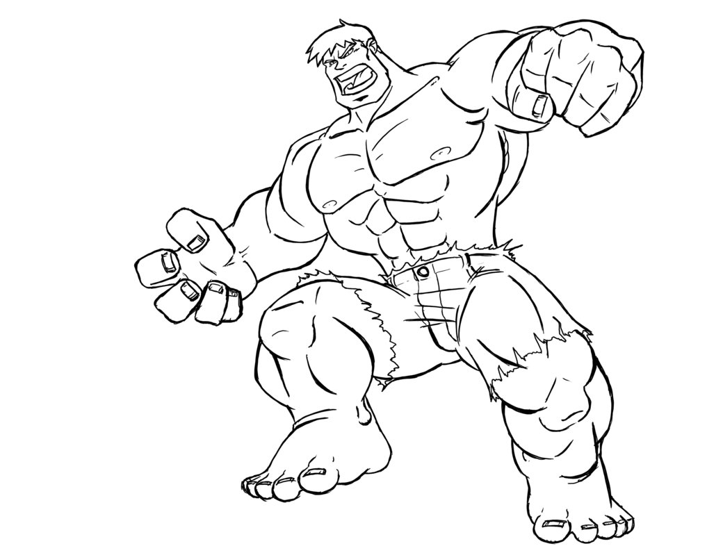 hulk coloring pages - hulk coloring pages