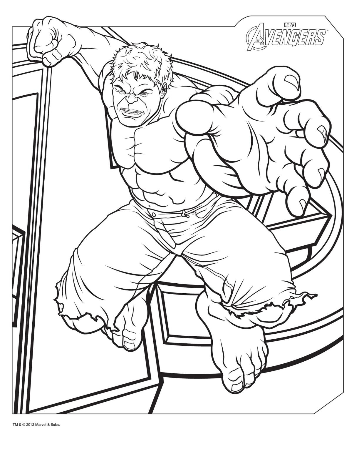 hulk coloring pages - marvel red hulk coloring page sketch templates
