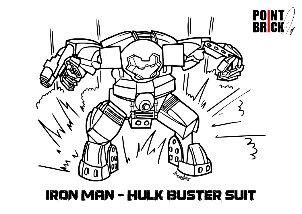 hulkbuster coloring pages - q=iron man hulkbuster