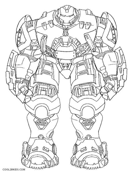 23 Hulkbuster Coloring Pages Pictures | FREE COLORING PAGES