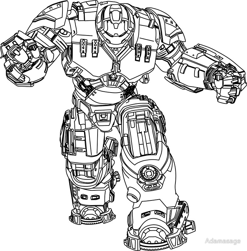 hulkbuster coloring pages - iron man and gun coloring pages free