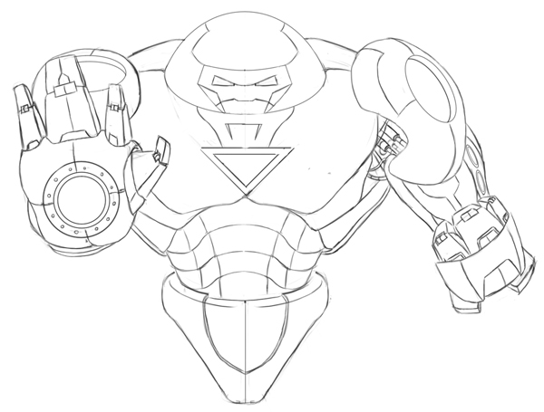 hulkbuster coloring pages - lego iron man hulkbuster coloring sketch templates
