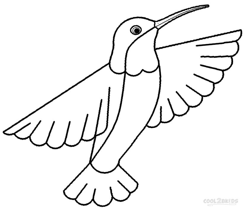 hummingbird coloring page - hummingbird coloring pages