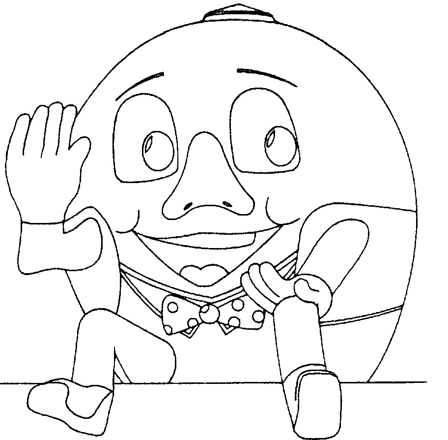 21 Humpty Dumpty Coloring Page Images | FREE COLORING PAGES