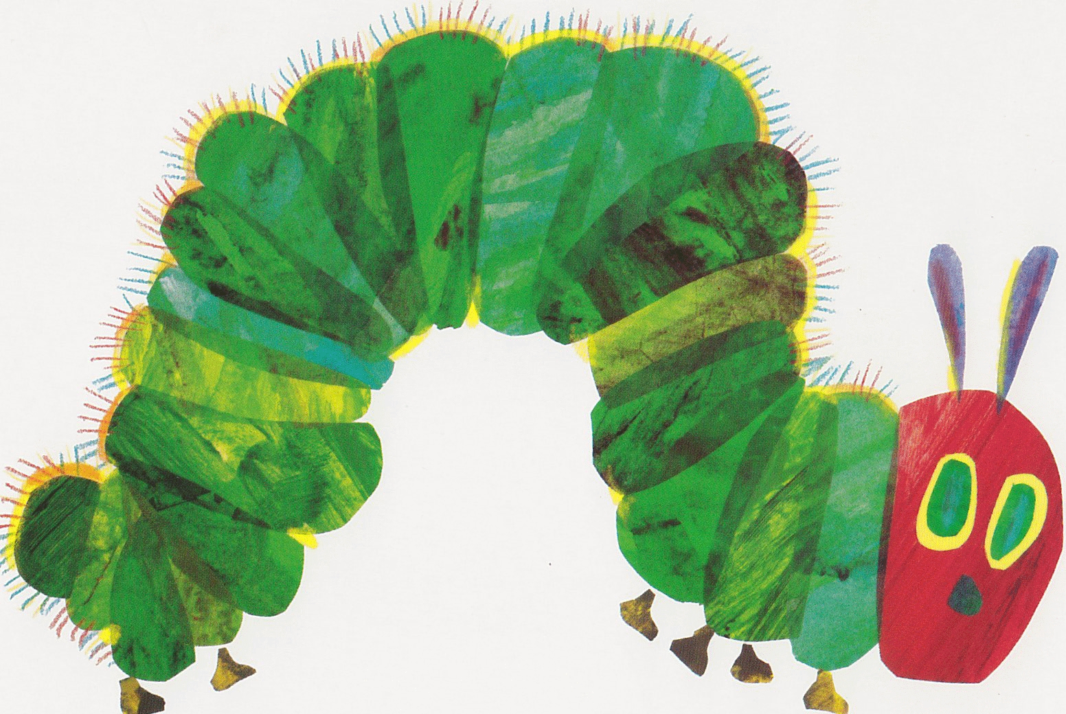 hungry caterpillar coloring page - very hungry caterpillar