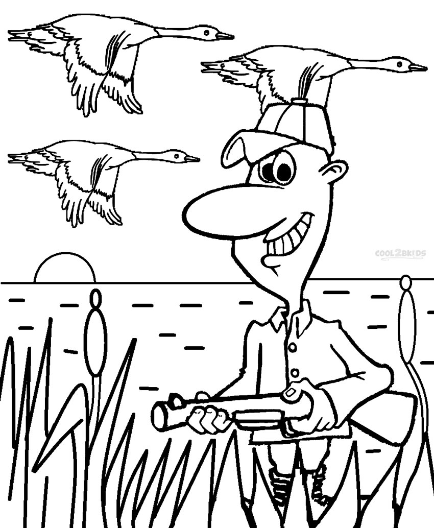 hunting coloring pages - q=hunting dog