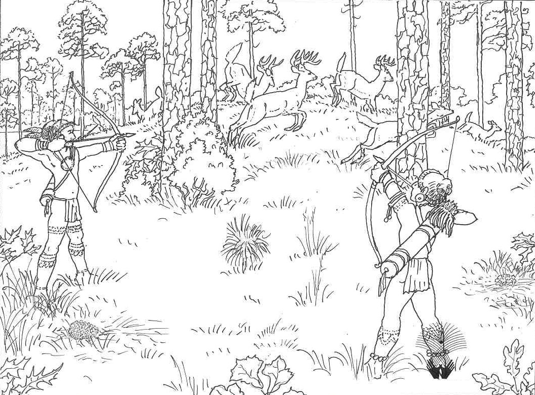 hunting coloring pages - coloringpages us flying duck 540