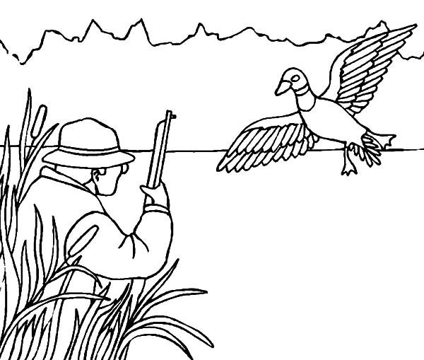 27 hunting coloring pages collections free coloring pages for Hunter coloring pages