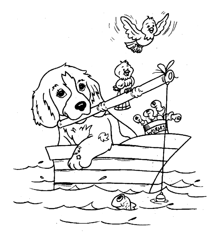Hunting Coloring Pages - Sketches Hunting Dogs Coloring Pages