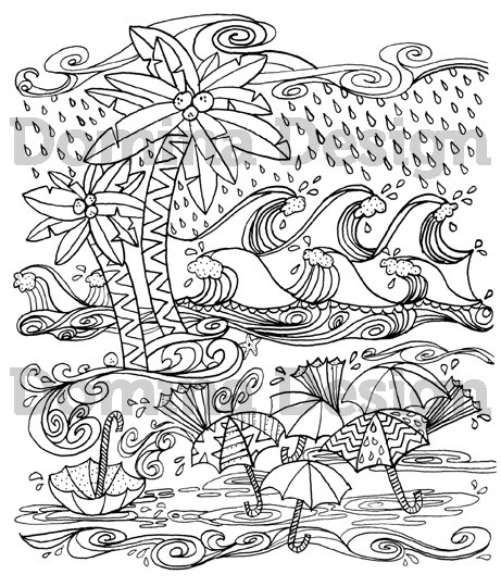 hurricane coloring pages - adult coloring page hurricane at the