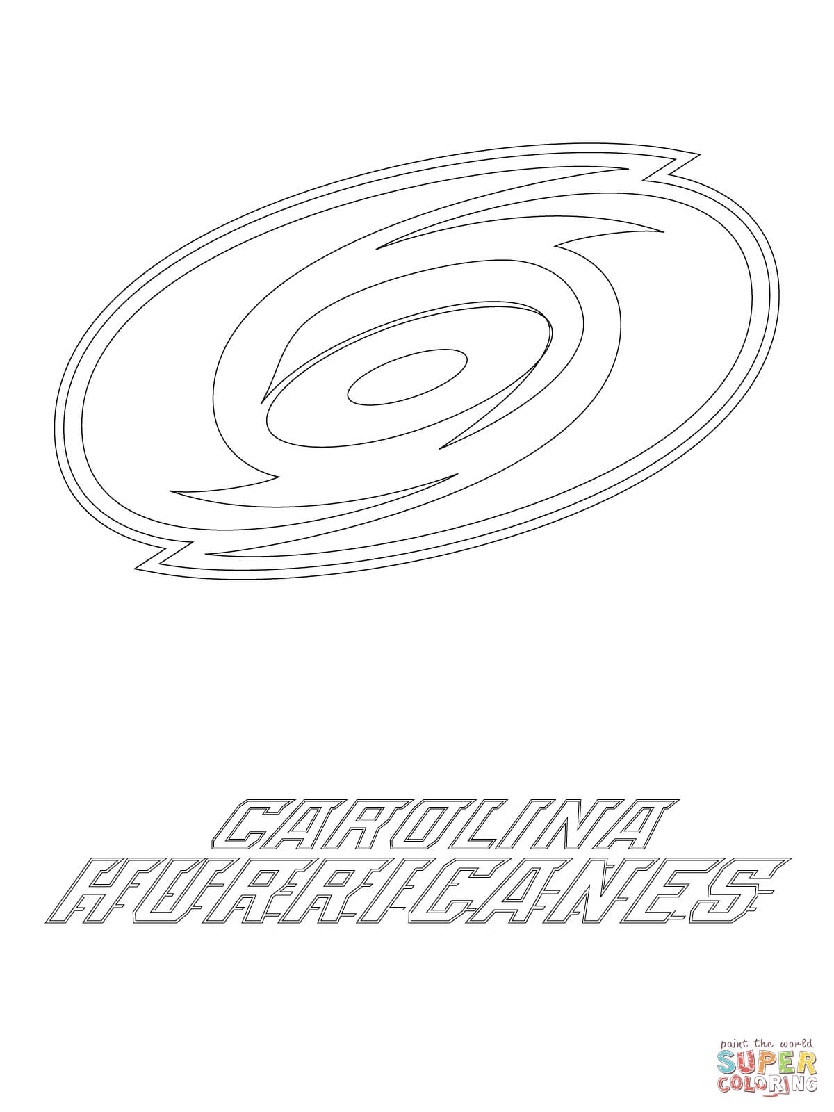 hurricane coloring pages - carolina hurricanes coloring pages sketch templates