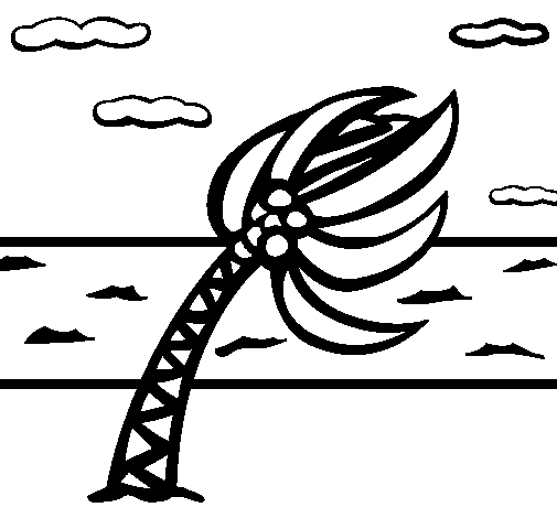 Hurricane Coloring Pages - Colored Page Hurricane Painted by Hurricane