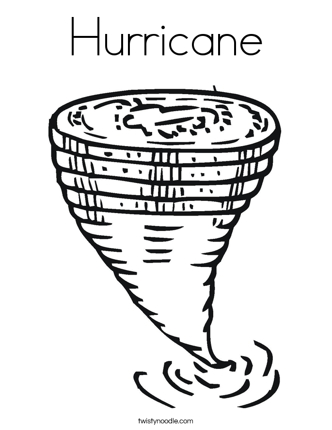 hurricane coloring pages - hurricane coloring page