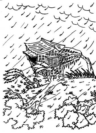 hurricane coloring pages - hurricane
