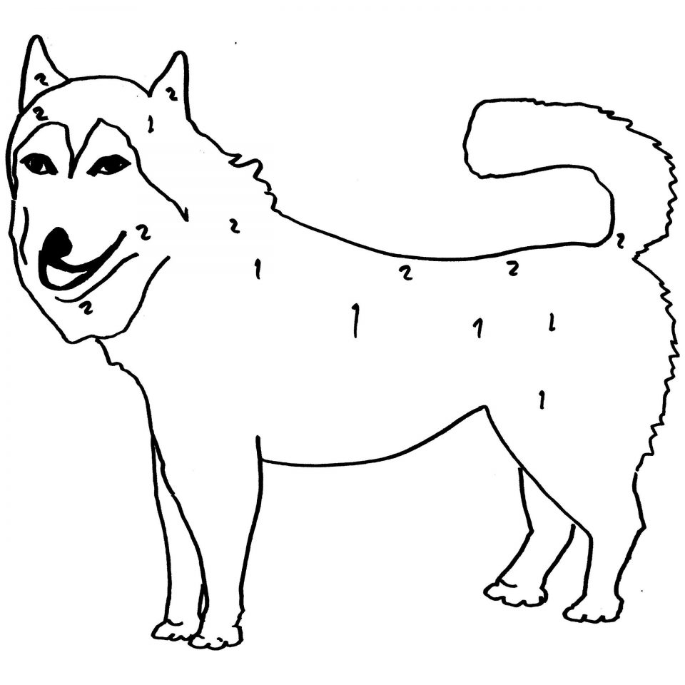 23 Husky Coloring Pages Selection | FREE COLORING PAGES - Part 3