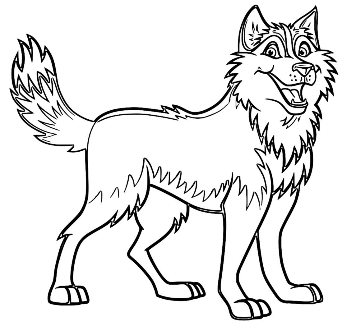 Husky Coloring Pages - Snow Husky Coloring Pages Coloring Coloring Pages