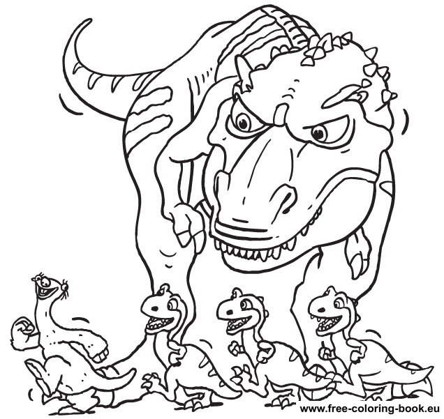 21 Ice Age Coloring Pages Pictures | FREE COLORING PAGES