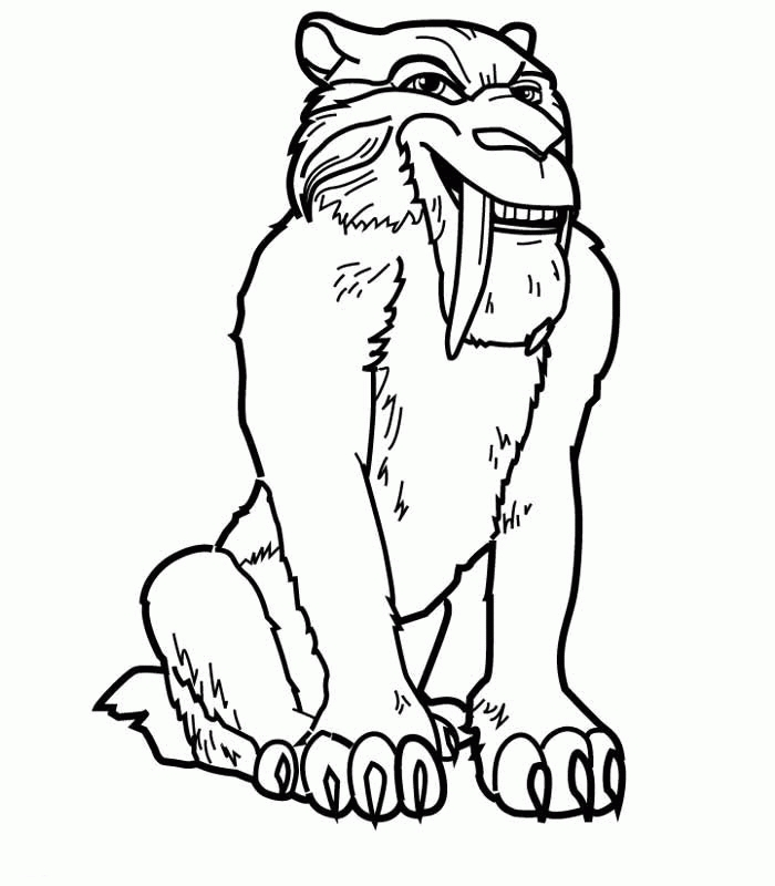 ice age coloring pages - ice age coloring pages