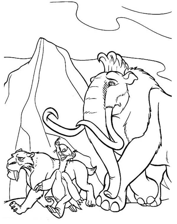 21 Ice Age Coloring Pages Pictures | FREE COLORING PAGES - Part 2