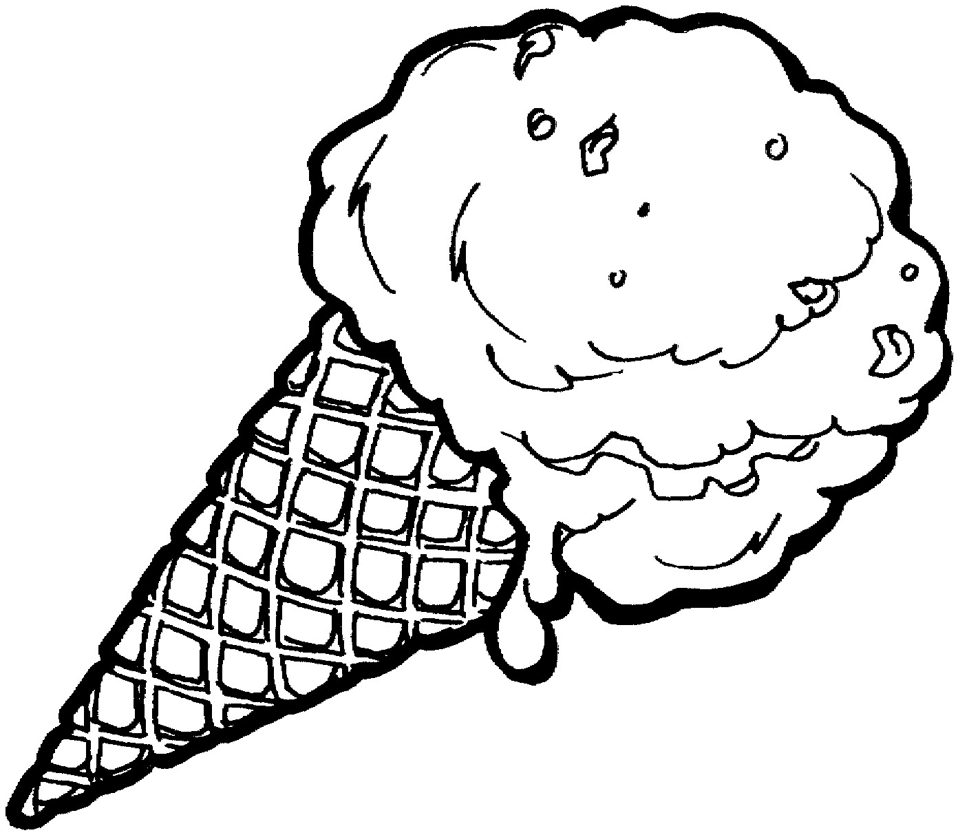 Ice Cream Coloring Pages - Free Printable Ice Cream Coloring Pages for Kids