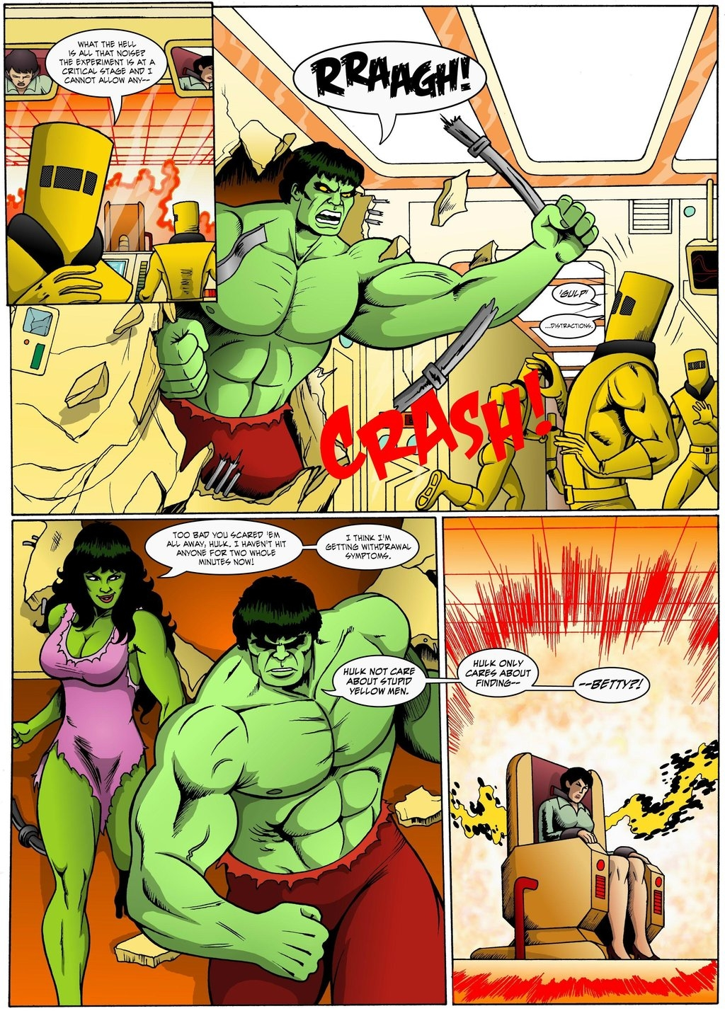 incredible hulk coloring pages - The Incredible Hulk Red Alert Page 17