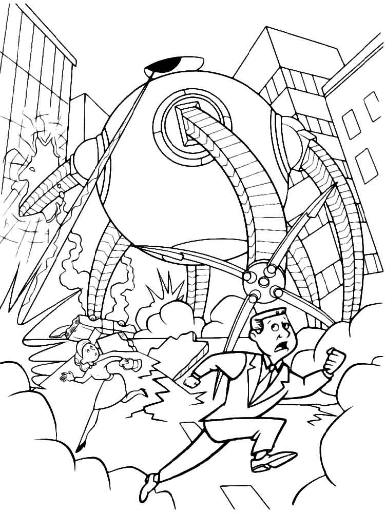 incredibles coloring pages - incredibles coloring pages