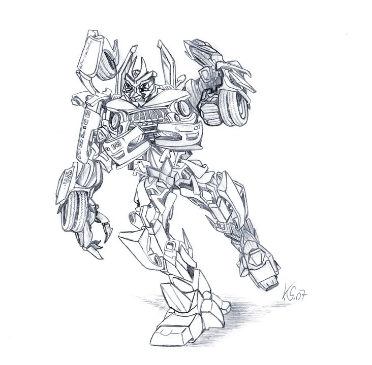 indiana jones coloring pages - transformer revenge of the fallen coloring pages
