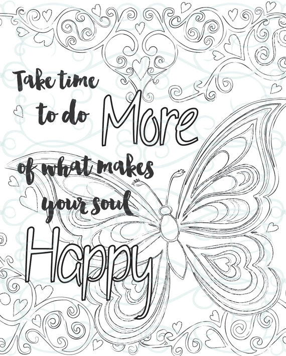 inspirational adult coloring pages - adult inspirational coloring page
