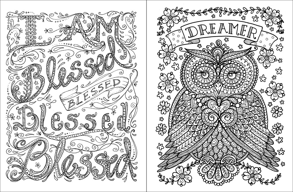 inspirational adult coloring pages - detail sku=