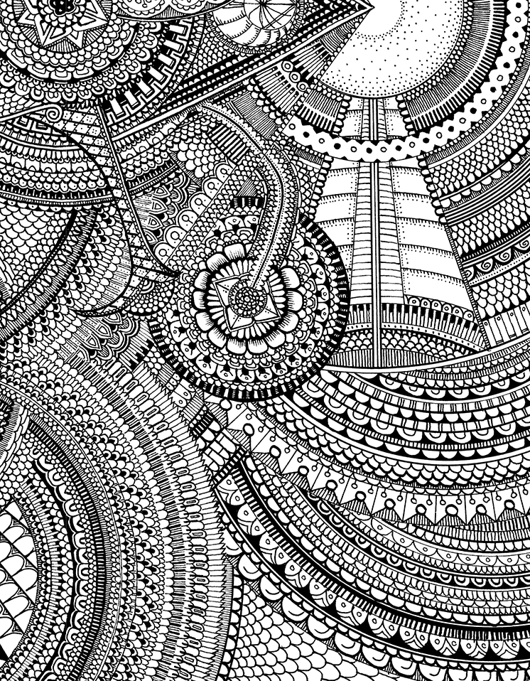 intricate coloring pages - color me crazy excerpt of new coloring