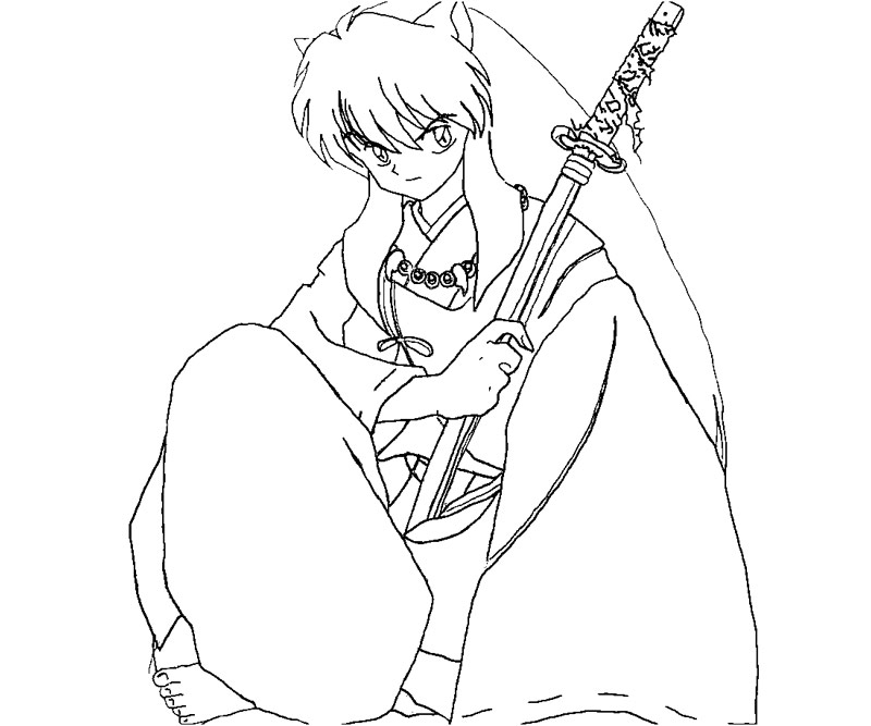 23 Inuyasha Coloring Pages Pictures | FREE COLORING PAGES - Part 3