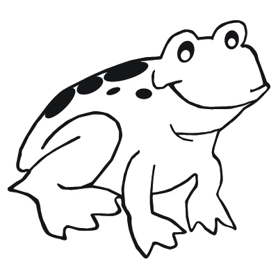 iphone coloring page - frosch 2