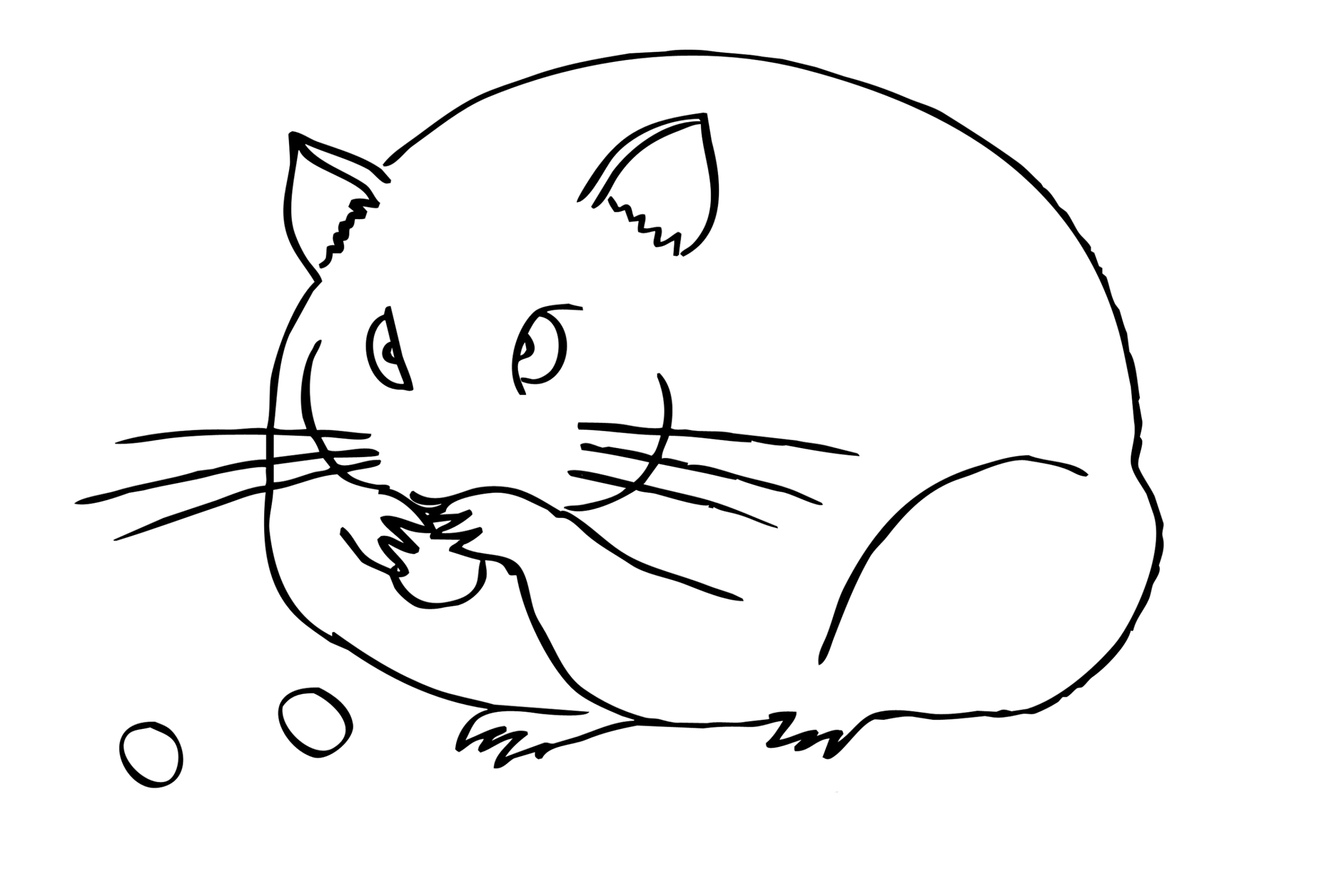 it coloring pages - malvorlage hamster kostenlos 1