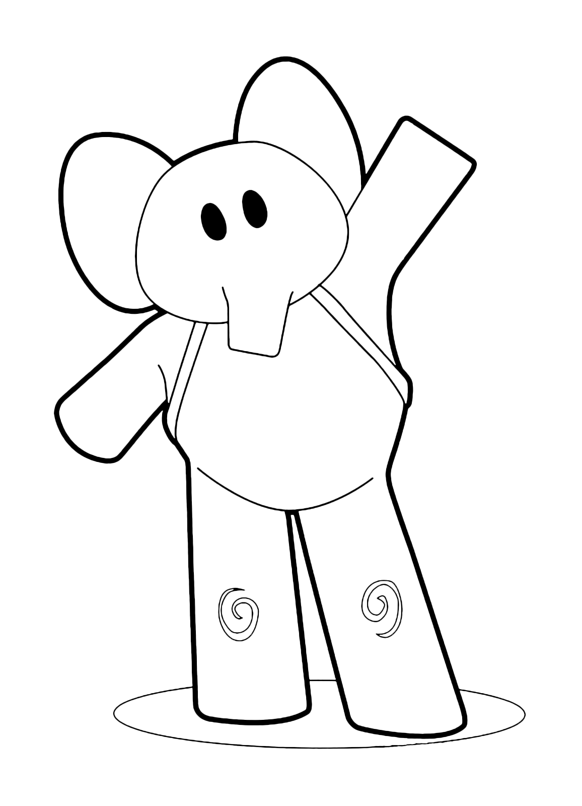 it coloring pages - elly saluta