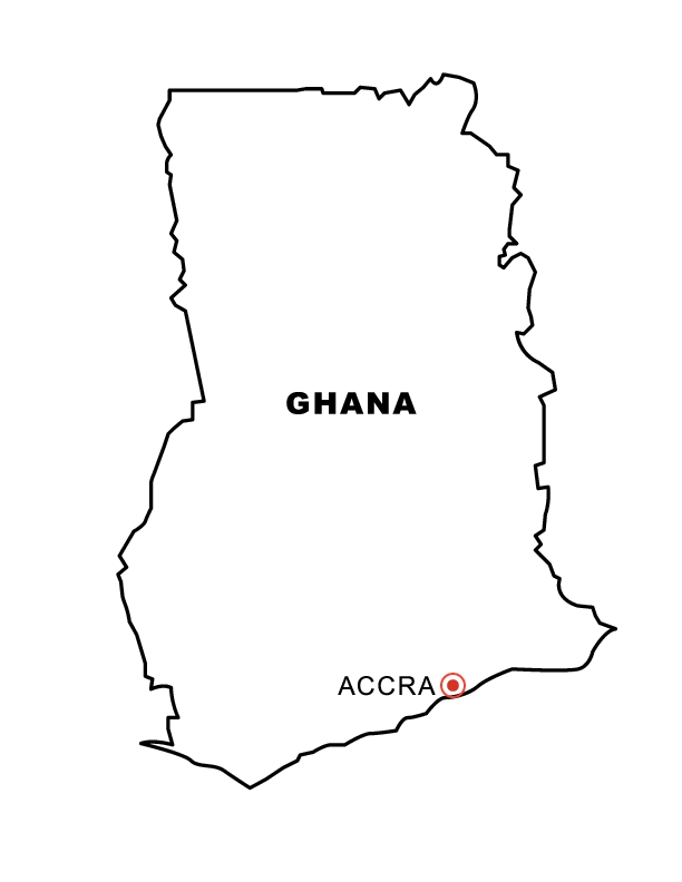italy coloring pages - ghana outline maps