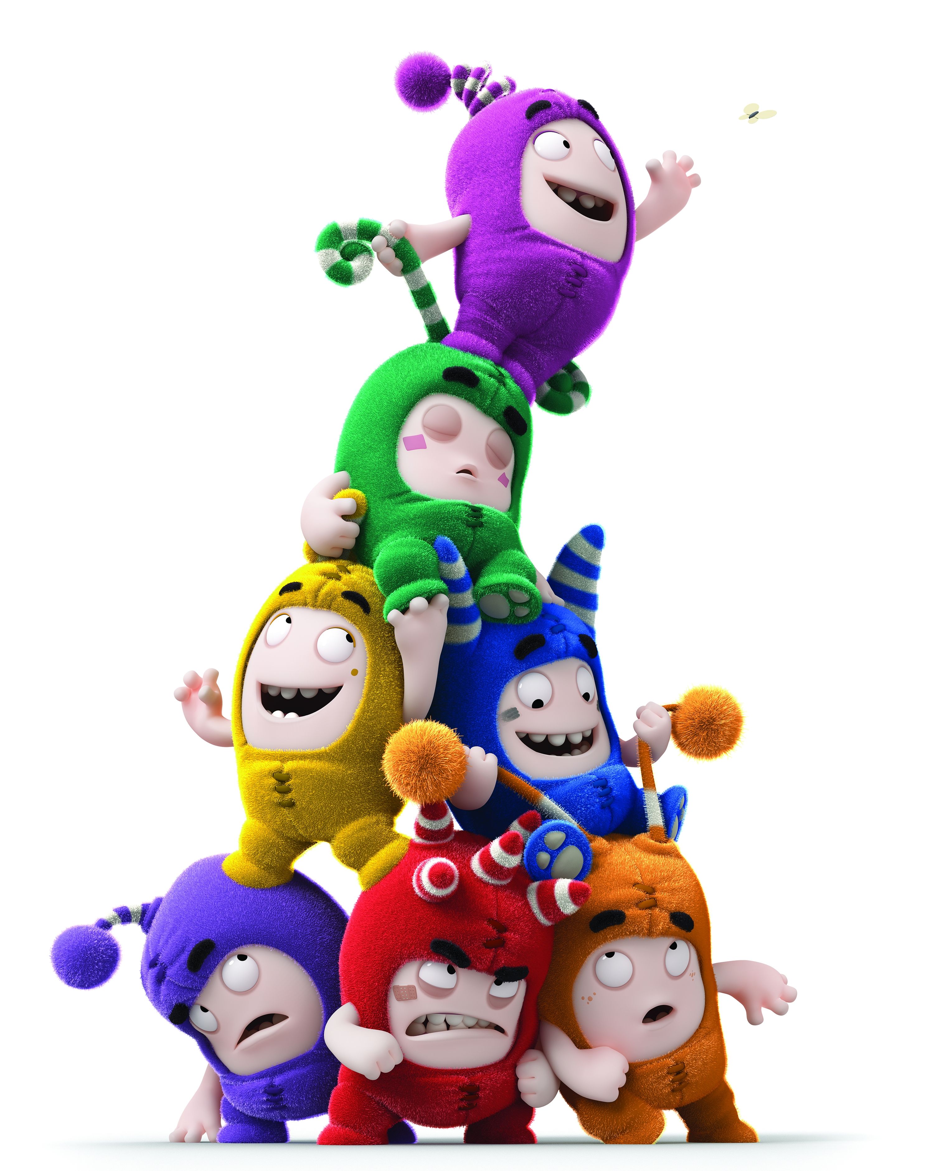 italy coloring pages - the oddbods go long