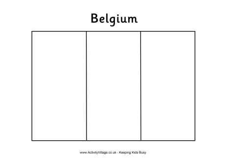 italy flag coloring page - belgium flag colouring page