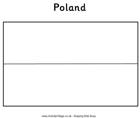 italy flag coloring page - poland flag colouring page