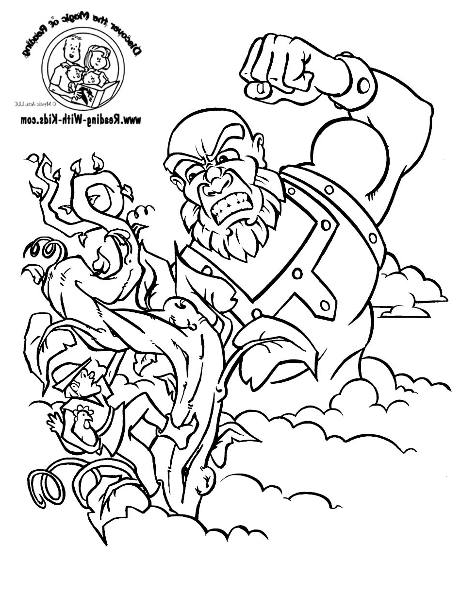 20 Jack and the Beanstalk Coloring Pages Images | FREE COLORING ...