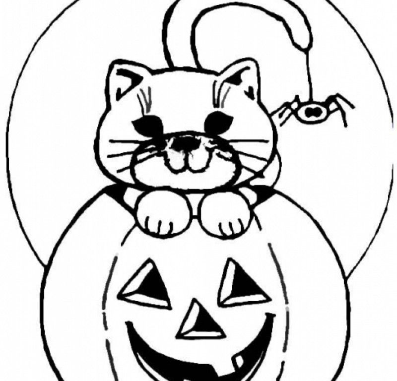 jack o lantern coloring page - cartoon jack o lanterns