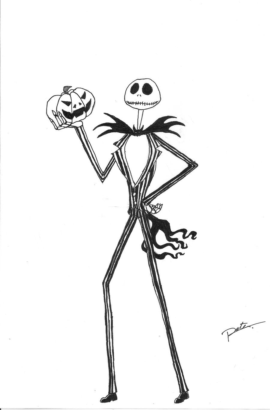 21 Jack Skellington Coloring Page Compilation FREE COLORING PAGES